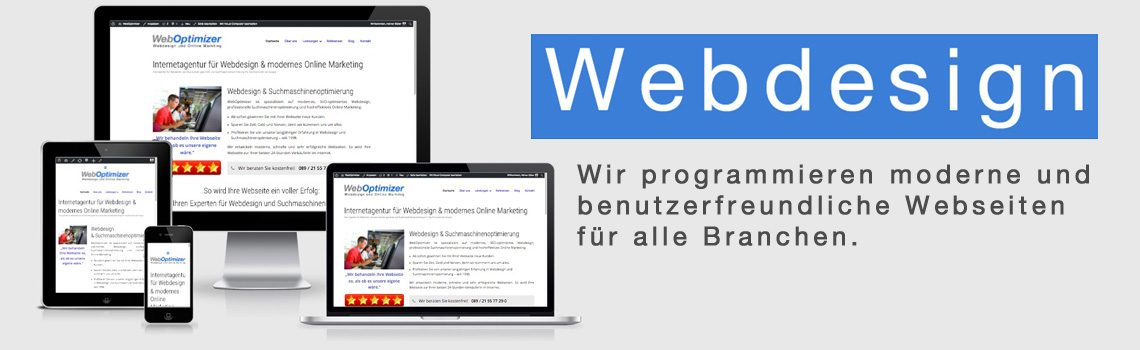 Webdesign für alle Branchen