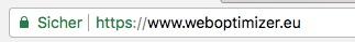 Sichere Webseite mit HTTPS und SSL